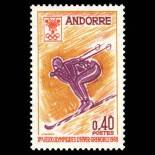 Timbre Andorre N° 187 neuf sans charnière