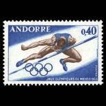 Timbre Andorre N° 190 neuf sans charnière