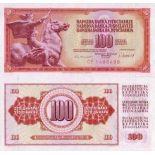 Billets de banque Yougoslavie Pk N° 90 - 100 Dinara