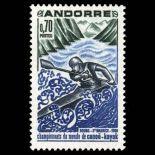 Timbre Andorre N° 196 neuf sans charnière
