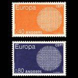 Andorra Briefmarken N° 202 N° 203 Postfrisch