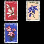 Andorra Briefmarken N° 229 N° 231 Postfrisch