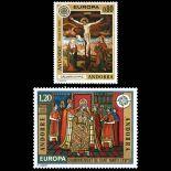 Andorra Briefmarken N° 243 N° 244 Postfrisch