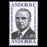 Timbre Andorre N° 249 neuf sans charnière