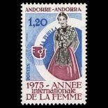 Francobollo d'Andorra N° 250 nove senza cerniera
