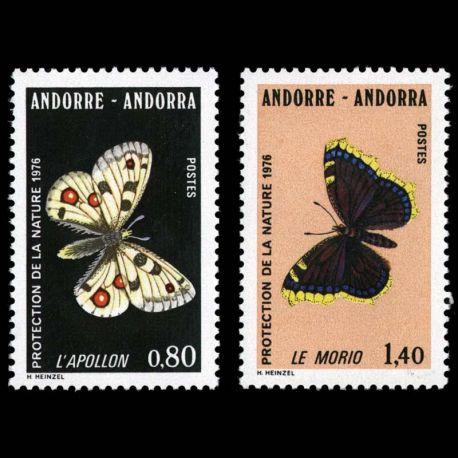 Andorre - N° 258 au N° 259 - Neuf sans charnière