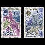 Andorra Briefmarken N° 261 bis N° 262 Postfrisch