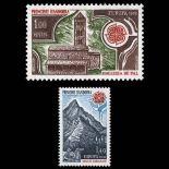 Andorra Briefmarken N° 269 bis N° 270 Postfrisch
