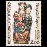 Sello de Andorra N° 271 nueve sin bisagra