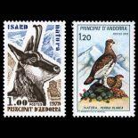 Andorra Briefmarken N° 274 N° 275 Postfrisch