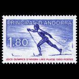 Francobollo d'Andorra N° 283 nove senza cerniera