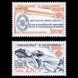 Andorra Briefmarken N° 300 N° 301 Postfrisch
