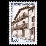 Francobollo d'Andorra N° 326 nove senza cerniera