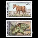 Andorra Briefmarken N° 361 bis N° 362 Postfrisch