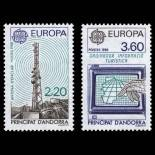 Andorra Briefmarken N° 369 bis N° 370 Postfrisch