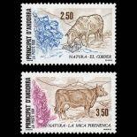 Andorra Briefmarken N° 405 N° 406 Postfrisch