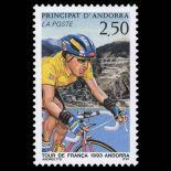 Francobollo d'Andorra N° 434 nove senza cerniera