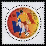 Sello de Andorra N° 517 nueve sin bisagra