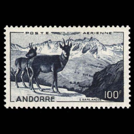 Timbre Andorre N° 1 PA neuf sans charnière