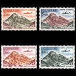 Andorra Briefmarken Luftpost N° 5/8 Postfrisch