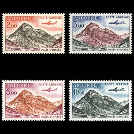 Andorre - N° 5/8 PA - Neuf sans charnière
