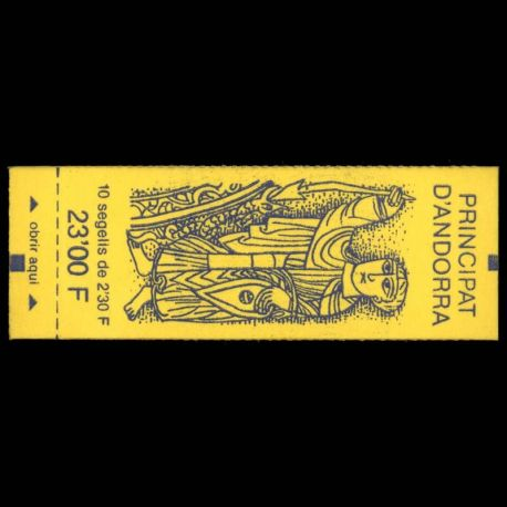 Andorre - N° 3 Carnet - Neuf sans charnière