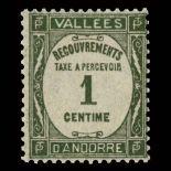 Andorra Porto Marken N° 16 Postfrisch