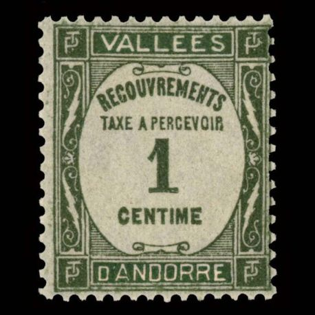 Andorre - N° 16 TT - Neuf sans charnière