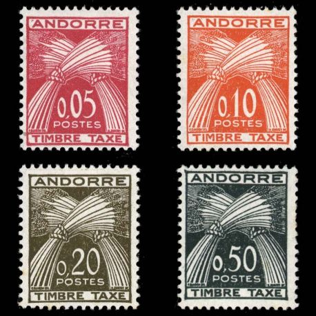 Andorre - N° 42/45 TT - Neuf sans charnière
