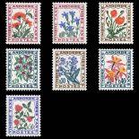 Andorra Porto Marken N° 46/52 neue Postfrisch