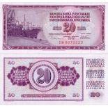 Billet de collection Yougoslavie Pk N° 88 - 20 Dinara