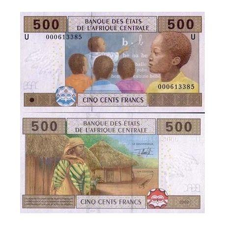 Billets de collection Billet de banque Afrique Centrale Cameroun Pk N° 206 - 500 Francs Billets du Cameroun 7,00 €