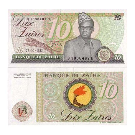 Zaire - Pk Nr. 27-10 Zaires ticket