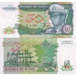 Billets de banque Zaire Pk N° 32 - 50 Zaires