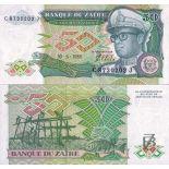 Collezione banconote Zaire Pick numero 32 - 50 Zaire