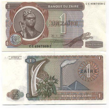 Zaire - Pk N° 19 - Billet de 1 Zaires