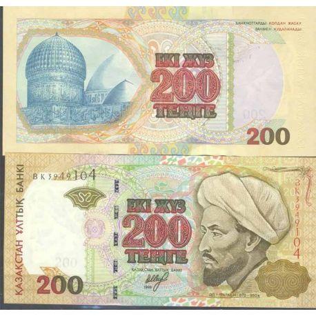 Kazakhstan - Pk N° 20 - Billet de banque de 200 Tenge