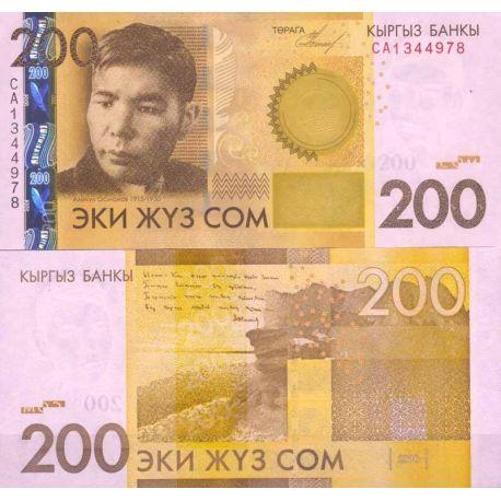 Kirghizstan - Pk N° 27 - Billet de banque de 200 Som
