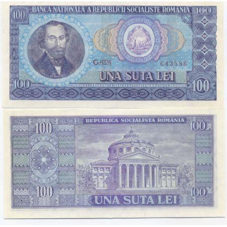 Roumanie - Pk N° 97 - Billet de banque de 100 Lei