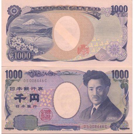 Japon - Pk N° 104 - Billet de banque de 1000 Yen