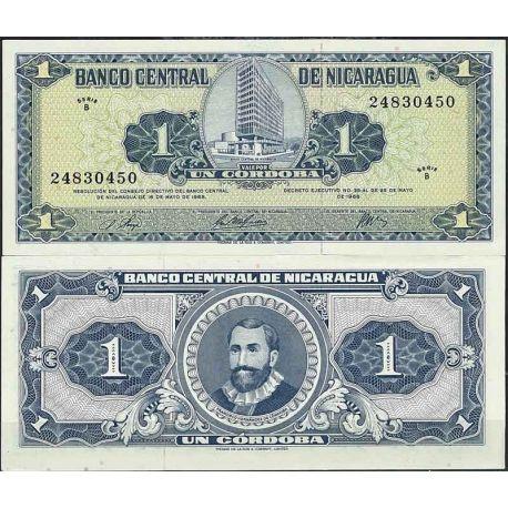 Billets de collection Nicaragua - Pk N° 115A - Billet de banque de 1 Cordobas Billets du Nicaragua 9,00 €