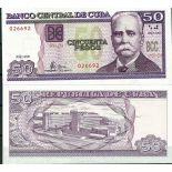 Collezione di banconote Cuba Pick numero 119 - 50 Peso 1997