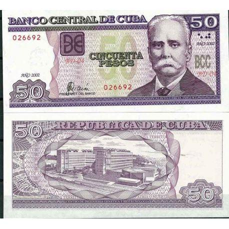 Cuba - Pk N° 119 - Billet de banque de 50 Pesos