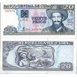 Cuba - Pk N° 122B - Billet de banque de 20 Pesos
