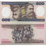 Precioso de billetes Brasil Pick número 200 - 500 Cruzeiro 1981