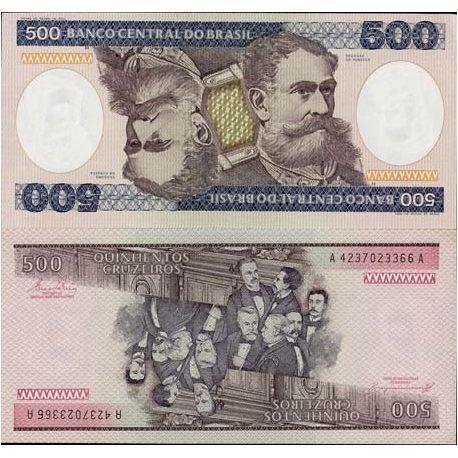 Bresil - Pk N° 200 - Billet de banque de 500 Cruzeiros