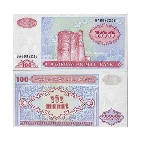 Azerbaidjan - Pk N° 18 - Billet de 100 Manat