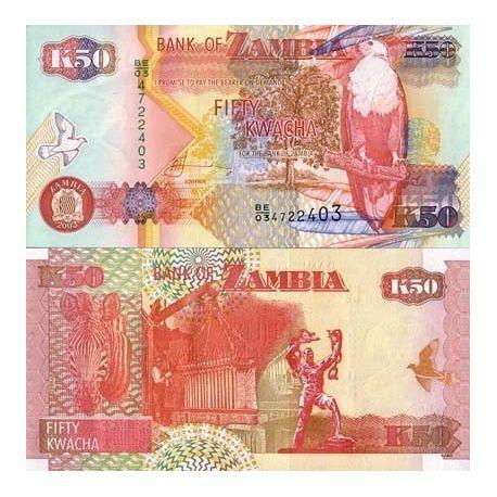 Zambie - Pk N° 999999 - Billet de 1000 Kwacha