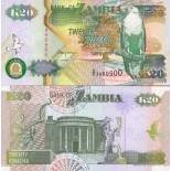 Billet de banque Zambie Pk N° 36 - 20 Kwacha