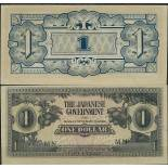 Banknoten Malaysia - Malaiische Staaten Pick Nummer 5 - 1 Ringgit